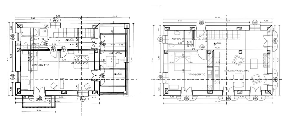 Awesome Local Floor Plans: The Size Of This House Will Be Quoted As 138,45 M2  Though Internal Floor Space Is Just 106,75 M2 (net). In Greece It Always  Will Be ...